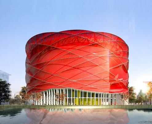 中国最骄傲的shuixiu舞台完工